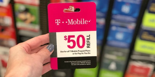 $5 Off Prepaid Mobile Phone Airtime Cards at Target | T-Mobile, Verizon, AT&T + More