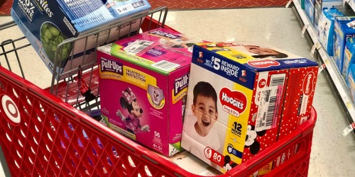 Huggies Diapers Super Packs Only $16.86 Each After Target Gift Card