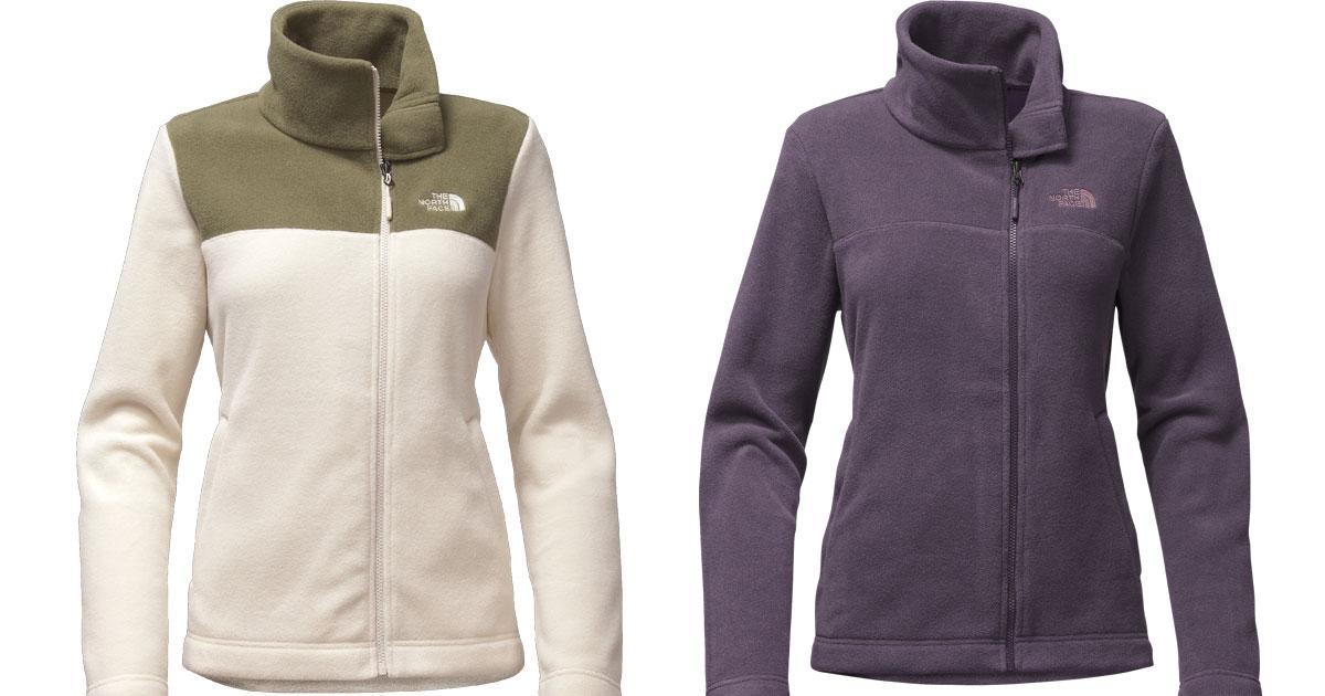 Women's The North Face fleece jackets