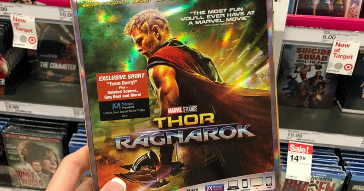 New Disney Movie Rewards Marvel Blu Ray Movies Available Thor Ragnarok Ant Man More