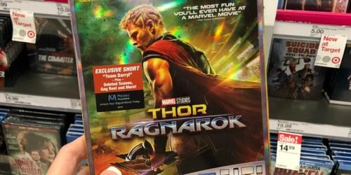 New Disney Movie Rewards Marvel Blu-ray Movies Available (Thor Ragnarok, Ant-Man & More)