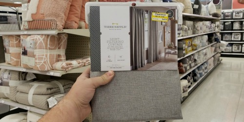 Up to 70% Off Curtain Panels & Shower Curtains at Target