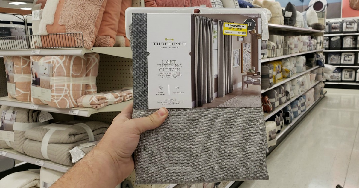 If You Are Headed To Target Soon, Keep An Eye Out For Window And Shower  Curtains On Clearance For Up To 70% Off! Note That These Low Clearance  Prices Are ...
