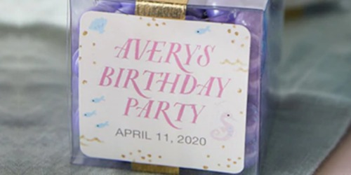 Personalized Tiny Prints Gift Tag Sticker Set Just $1.99 Shipped