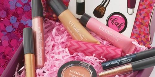 Ulta Beauty 10-Piece Unboxed Beauty Kit + Lip Balm Only $5.46