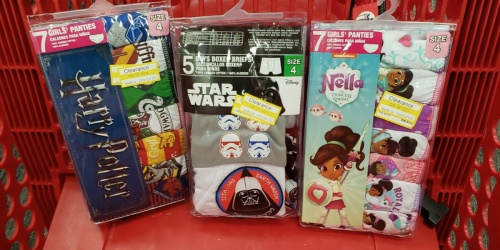 Up to 70% Off Kids Underwear Multi-Packs at Target
