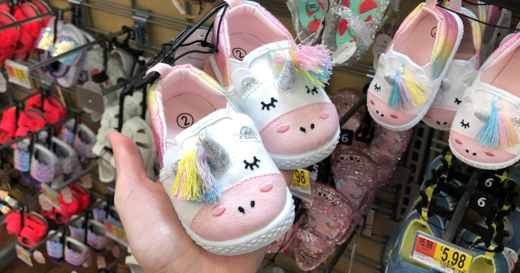 f7fd007dc350 Adorable Wonder Nation Kids Shoes as Low as  4.98 at Walmart - Hip2Save