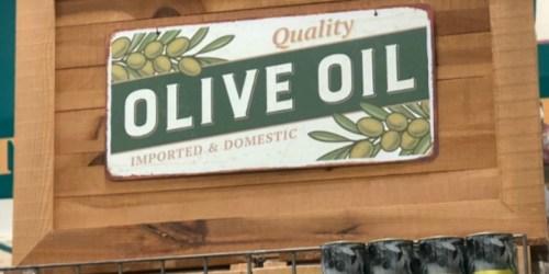 FREE Mini Bottle of Extra Virgin Olive Oil for Select World Market Rewards Members