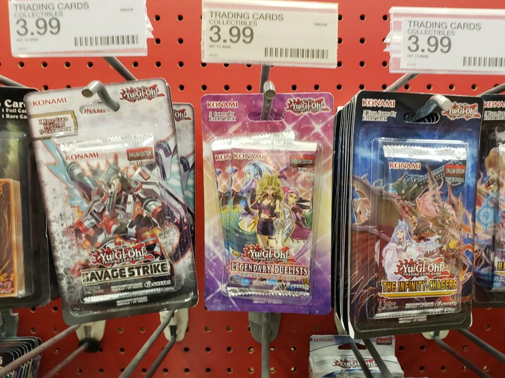 40 Off Yu Gi Oh Trading Cards At Target Just Use Your Phone