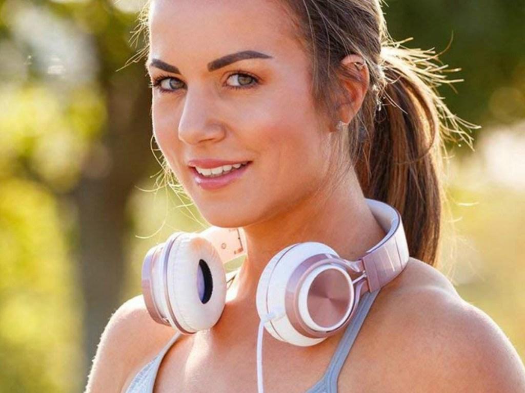 AILIHEN Folding Wired Headphones