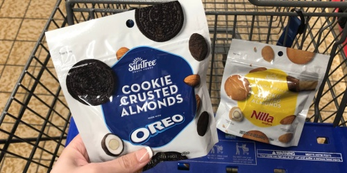 New OREO & Nilla Wafers Cookie Crusted Almonds Only $2.89 at ALDI