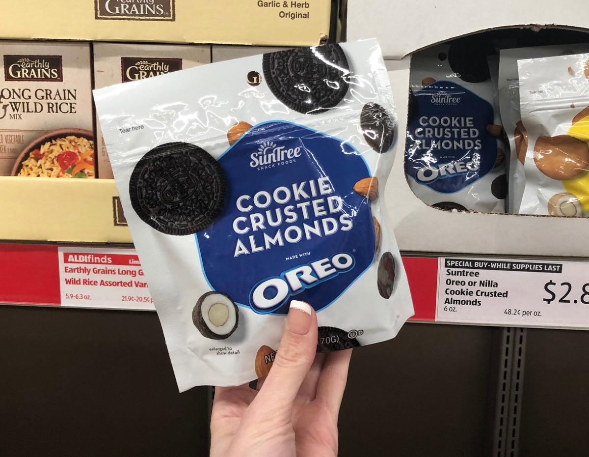 Oreo Almonds