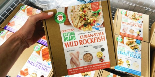 Contessa Cutting Board Meal Kits Only $9.99 at ALDI (Ready in 30 Minutes or Less)