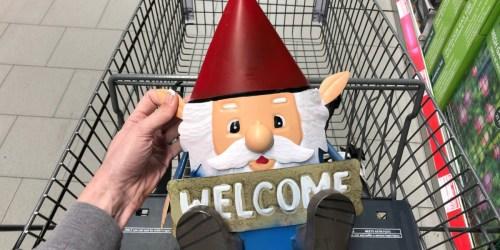 New Patio & Garden Finds at ALDI (Garden Gnomes, Patio Furniture & More)