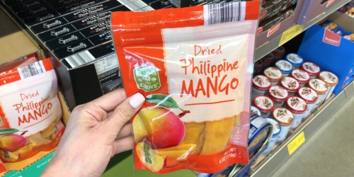 Have YOU Tried Dried Philippine Mangos at ALDI?