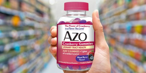 AZO Cranberry Urinary Tract Health Gummies Only $3.49 Shipped at Amazon