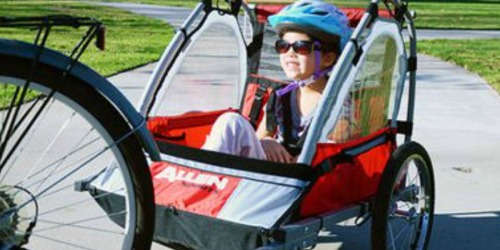 Allen Sports Deluxe 2-Child Bike Trailer Only $74.99 Shipped (Regularly $150)