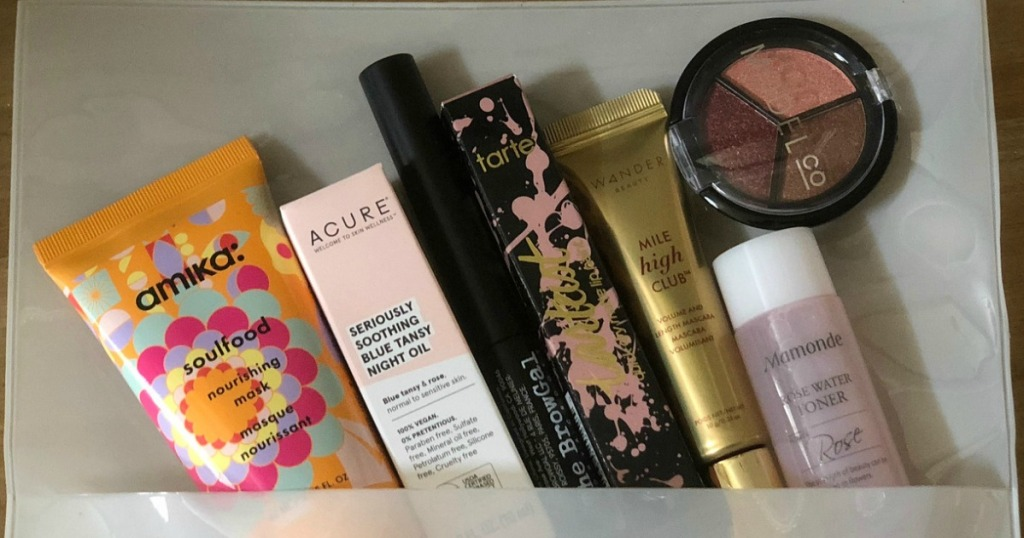 Allure Beauty Box Only $10 Shipped (Over $100 Worth of Beauty Products)