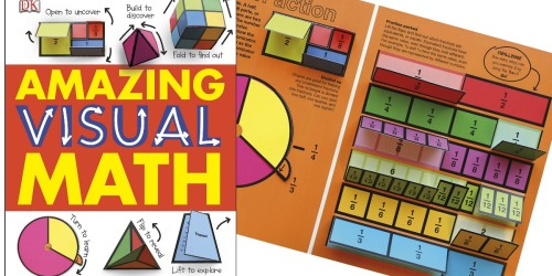 a0d64fdfd6895 Amazing Visual Math Hardcover Book Only  7.29 on Amazon (Regularly  17)