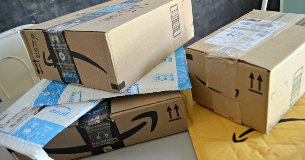 boxes from amazon for discounted amazon prime membership for military