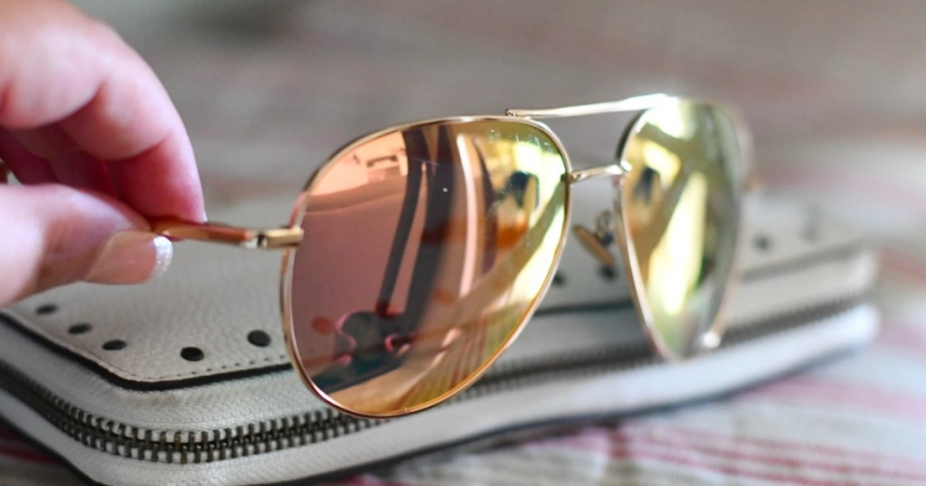 cc0bf918e2 Amazon  SUNGAIT Women s Aviator Sunglasses as Low as  12 Shipped ...