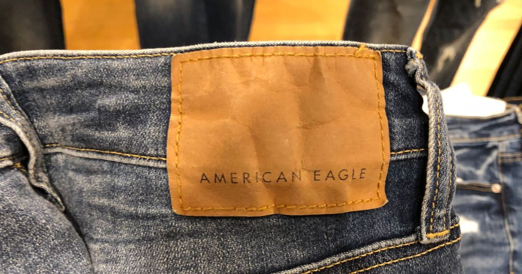 American Eagle Jeans tag