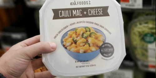 Ark Foods Cauli Mac + Cheese Now Available at Whole Foods Market (Plant-Based & Dairy-Free)