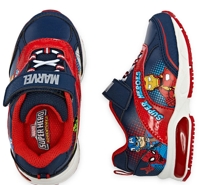 d0bc849d6ceea Up to 50% Savings on Kids Superhero Sneakers at JCPenney (Avengers ...