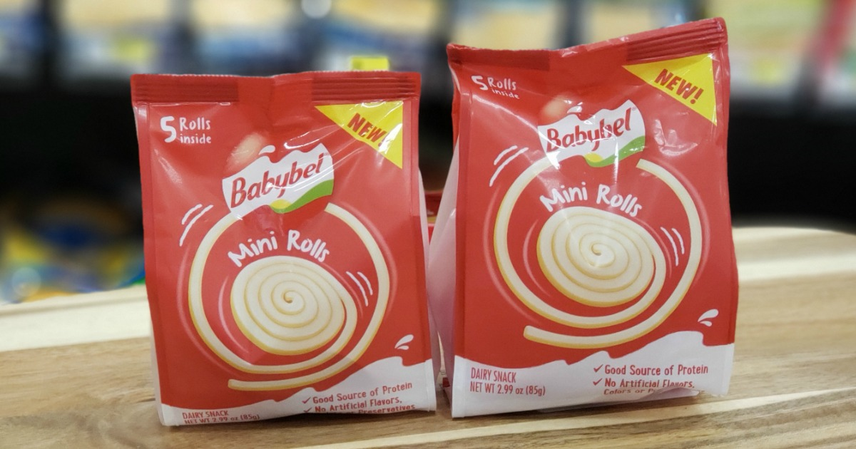 Babybel Cheese Mini Rolls are Available Now (Fun Protein-Rich Snack Perfect for Kids)