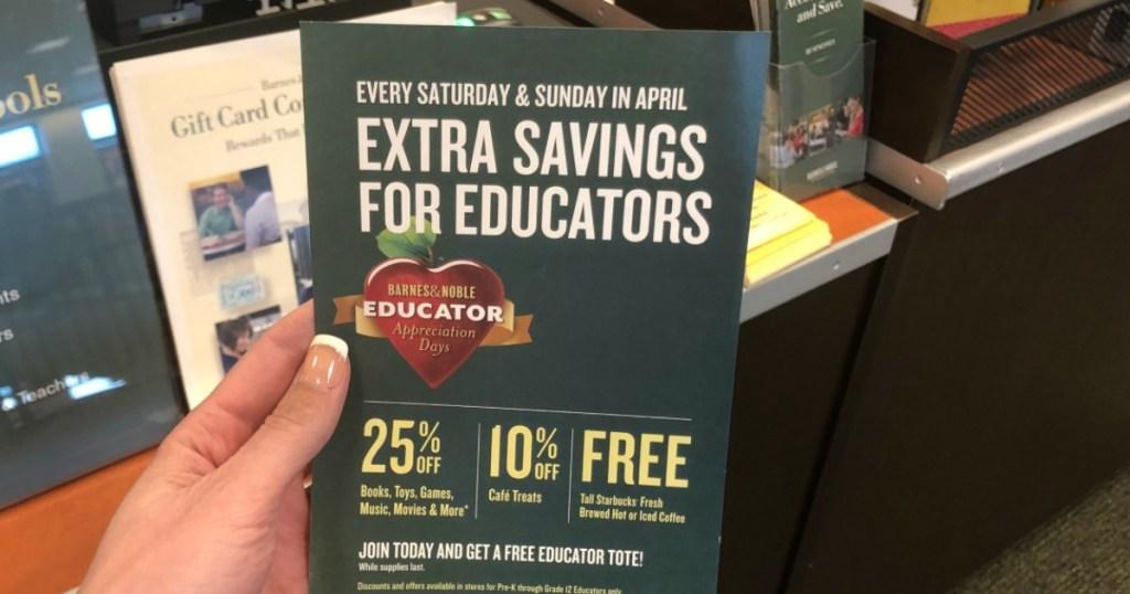 Barnes & Noble Educator Appreciation Days