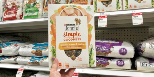 Purina Beneful Simple Goodness Dog Food Only $1.39 After Target Gift Card (Regularly $8) + More