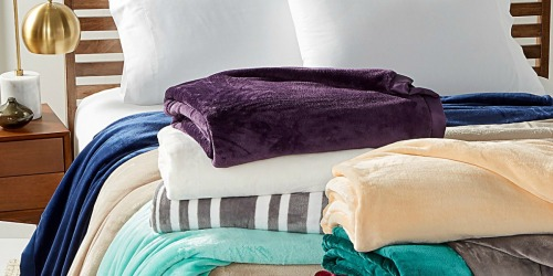 Berkshire Plush Blankets – ANY Size Only $16.99 at Macy's (Regularly $70)