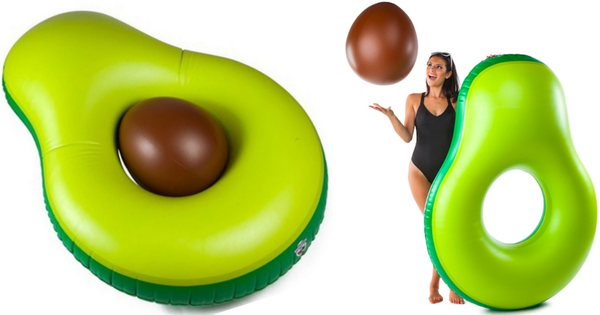 Giant Avocado Pool Float w/ Pit as Low as $15.99