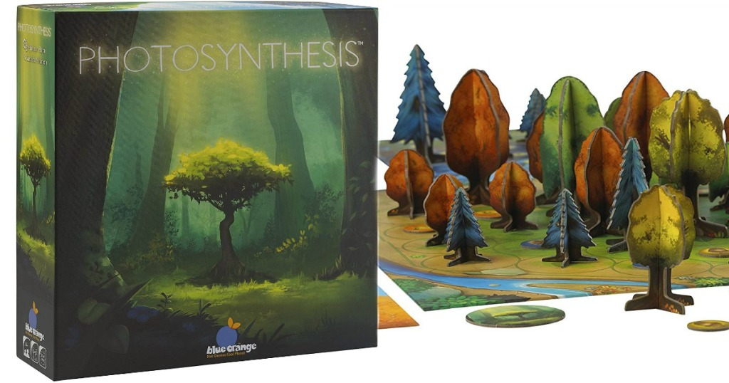 Photoshynthesis board game box and board