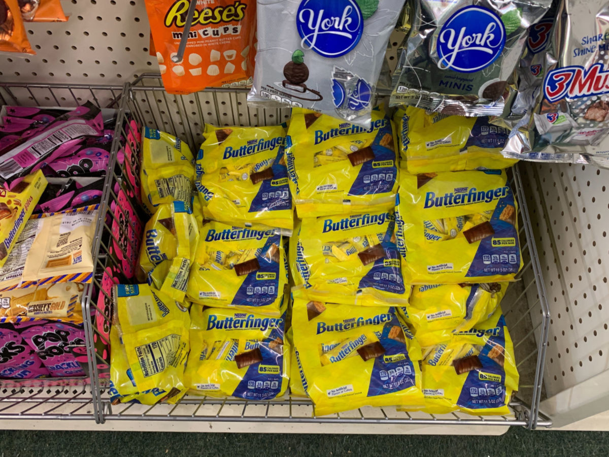 picture relating to Printable Dollar Tree Coupons identified as $1.50 Great importance of Fresh new Nestle Sweet Discount codes \u003d Totally free Butterfinger