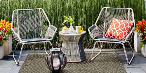 Up to 25% Off Patio Items + Extra 15% Off at Target.com (Furniture, Rugs, Lights & More)
