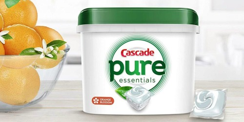 Amazon: Cascade Pure Essentials Actionpacs Dishwasher Detergent 58 Ct Only $11.65 Shipped