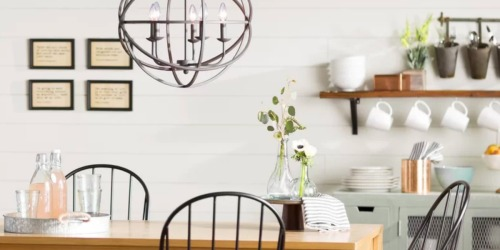 Up to 70% Off Chandeliers at Wayfair + FREE Shipping