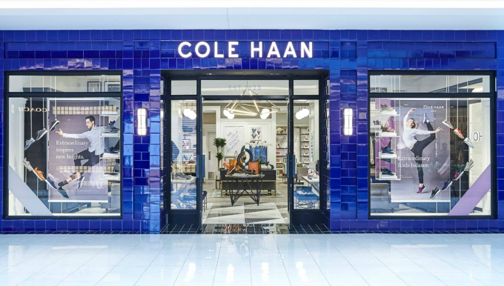 Cole Haan storefront