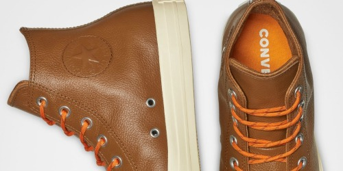 50% Off Converse Leather Shoes + Free Shipping