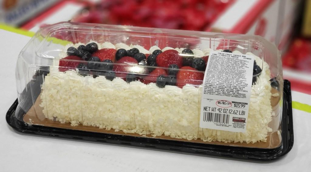 Costco fruit cake