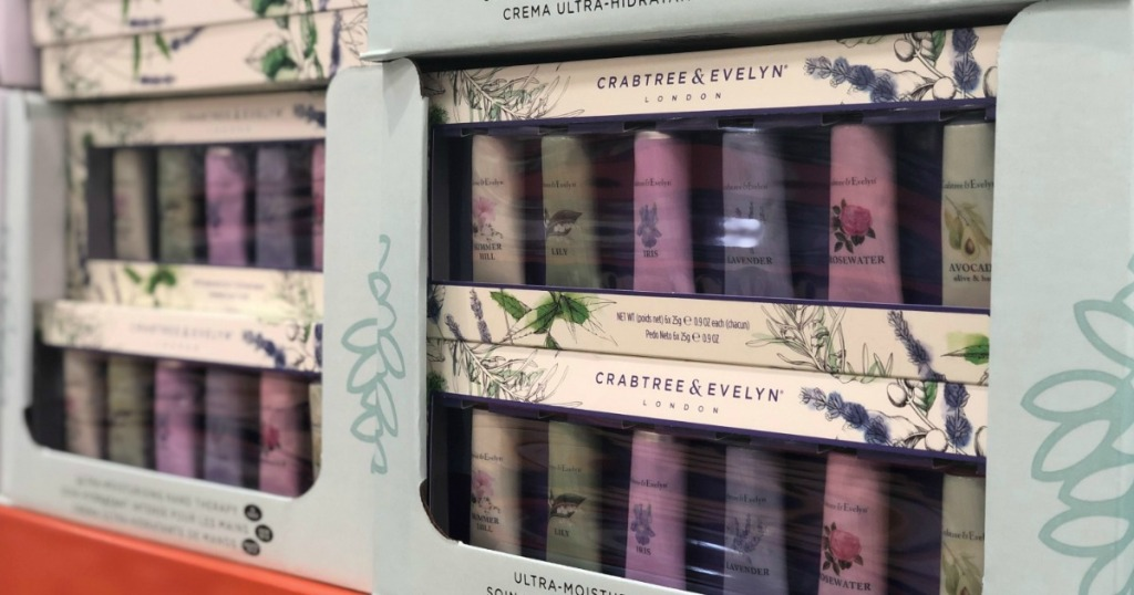 Crabtree & Evelyn 6-Piece Mini Hand Lotion Gift Set Just $4.97 at Costco
