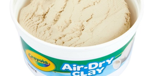 Crayola Air-Dry Clay BIG 2.5 lb Bucket Only $2.99 at Walmart.com