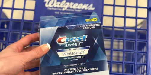 Wow! Get $27 Off Crest 3D Whitestrips at Walgreens after Rewards