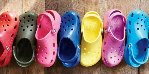 50% Off Crocs Footwear for the Family + FREE Jibbitz Charm (Today Only!)