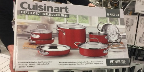 Cuisinart 11-Piece Cookware Set AND 3-Piece Bakeware Set Only $125.99 Shipped ($435 Value) + More