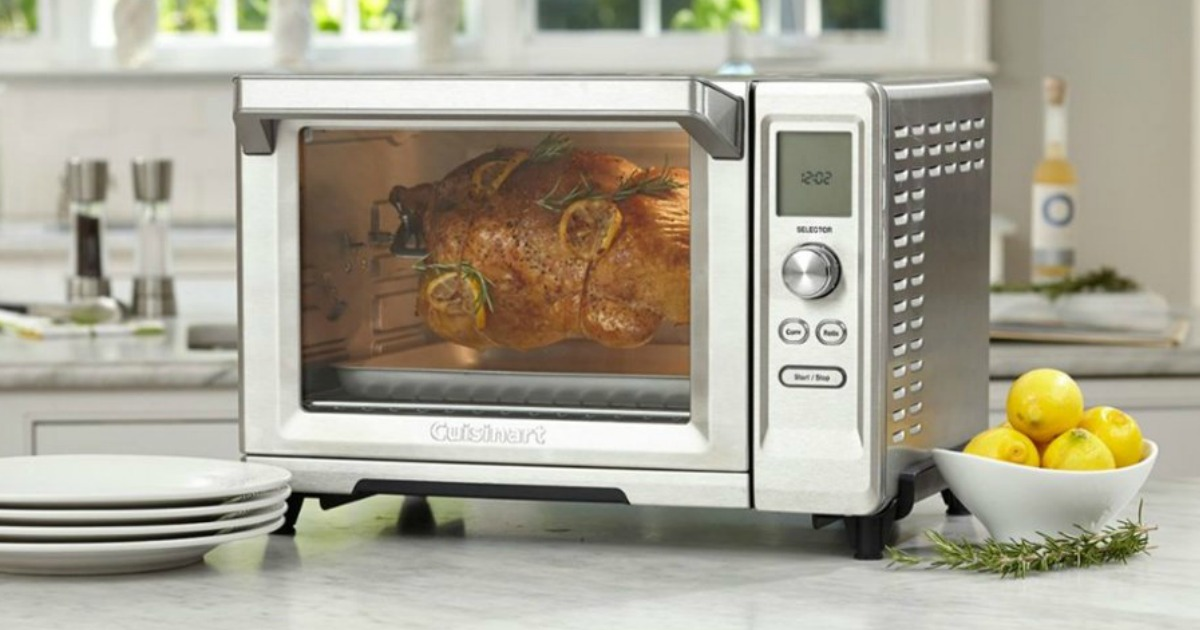 Cuisinart Rotisserie Convection Toaster Oven Only 99 99