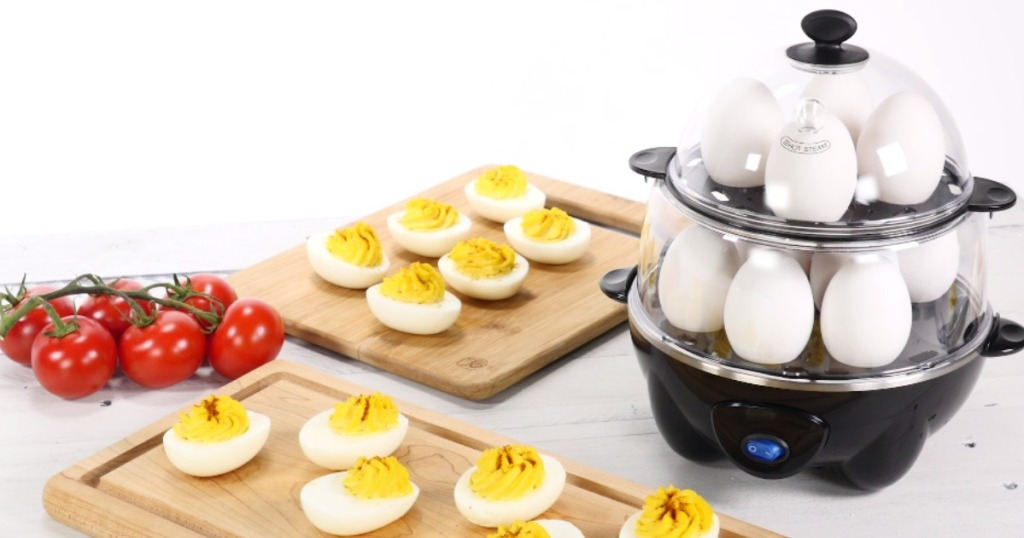 Dash Deluxe Rapid Egg Cooker ONLY $17.99 on Amazon (Cooks