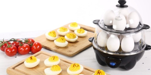 Dash Deluxe Rapid Egg Cooker ONLY $17.99 on Amazon (Cooks 12 Eggs at One Time)