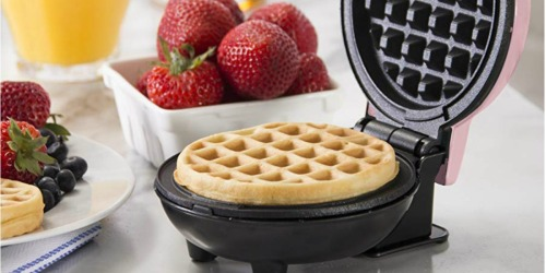 Mini Waffle Makers as Low as $8.74 Each on Kohl's.com (Regularly $18) + Free Curbside Pickup